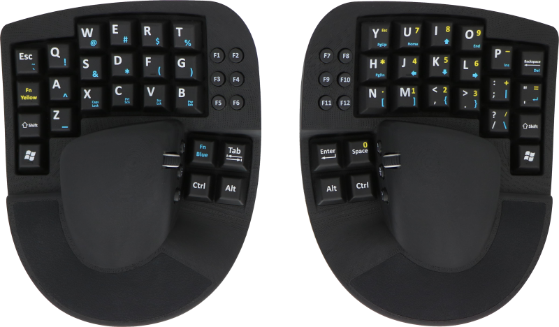 KeyMouse® - The Keyboard and Mouse Re-invented!