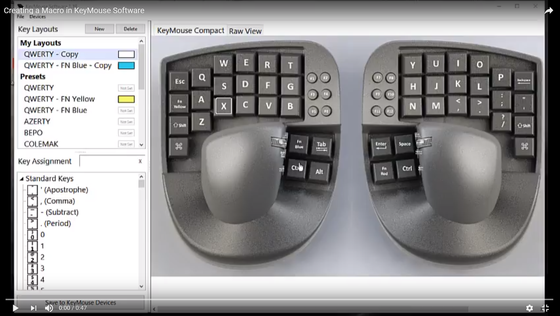63424a94901 Creating a Macro in KeyMouse Software