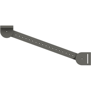 Long - Adjusts from 273mm to 419.10mm (18 holes)