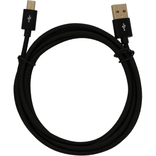 USB Cable - Mini B (Braided) - 1 Meter
