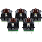 Cherry Key Modules (Brown - 5 Pack)